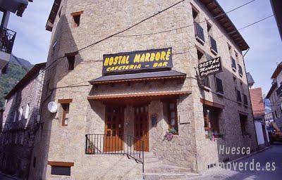 TURISMO VERDE HUESCA. Hostal Marboré de Bielsa